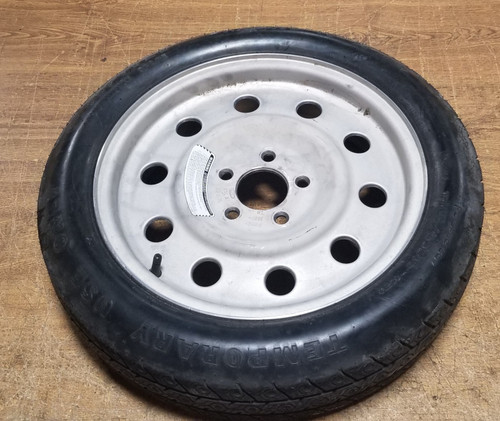 1998 1999 2000 2001 2002 LINCOLN TOWN CAR Compact Spare Aluminum Wheel 16 x 4.5