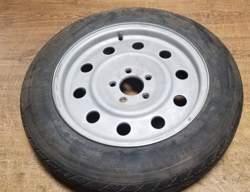 1998 1999 2000 2001 2002 LINCOLN TOWN CAR Spare Aluminum Wheel 16 x 4.5 T145/80R16
