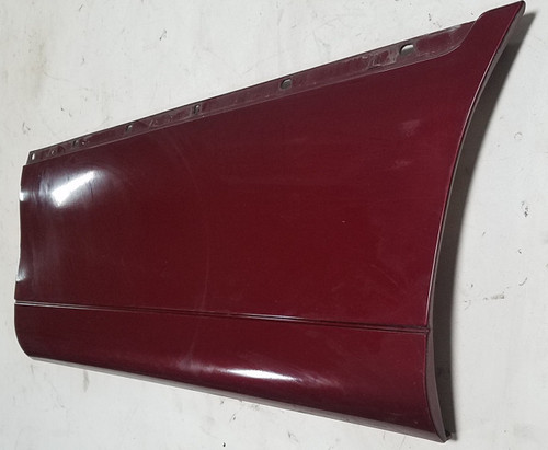 1998 - 2011 Lincoln Town Car LH Driver Side Rear Door Trim Molding Maroon