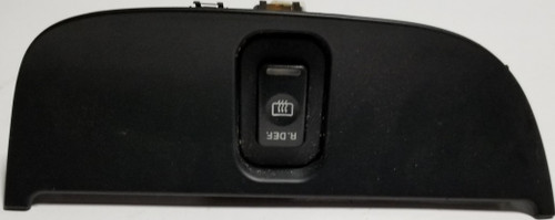 1997 1998 Lincoln Mark VIII Defrost Switch Assembly Dash Insert Black
