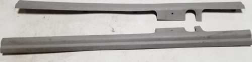 1997 1998 Lincoln Mark VIII Lower Seat Panel Set Light Graphite