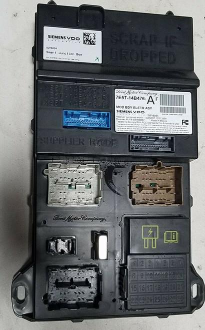 2007 MERCURY MILAN Multifunction Control Module Computer 2.3L 7E5T-14B476-AF