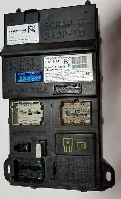 2008 MERCURY MILAN Multifunction Control Module Computer 2.3L ID 8E5T-14B476-BD