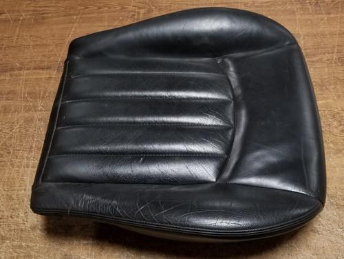 2002 2003 2004 Jaguar X-Type X Type RH Seat Bottom Black Leather with Heat