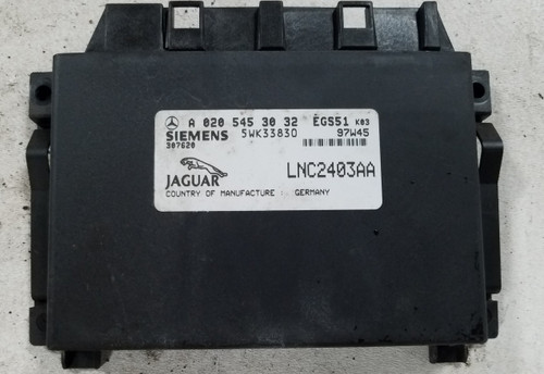 1998 1999 2000 2001 2002 2003 Jaguar XJR TRANSMISSION MODULE LNC2403AA A0205453032