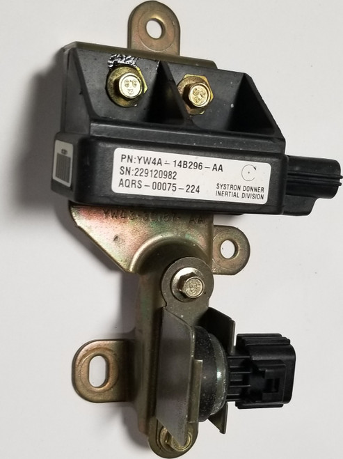 2000 2001 2002 Jaguar S-Type S Type YAW RATE SENSOR Assembly YW4A-14B296-AA