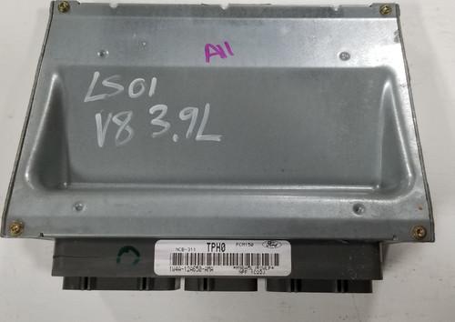 2001 LINCOLN LS 1W4A-12A650-AMA ECU ENGINE COMPUTER V8 3.9L COMPUTER MODULE ECM