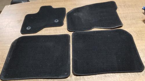 2011 2012 2013 2014 2015 2016 Ford Flex OEM Black Floor Mat Set 4 Pieces