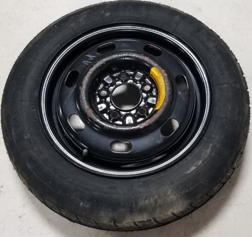 1996 to 2002 Mustang Spare Donut Wheel 15x4 Compact Spare Steel T125/90 R15