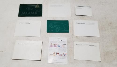 2002 Jaguar X-TYPE Owner Manuals Book Operator Handbook Kit With Case
