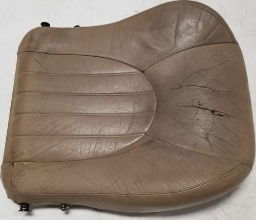 1997 1998 1999 Jaguar XK8 XKR LH Left Seat Base Cushion Tan