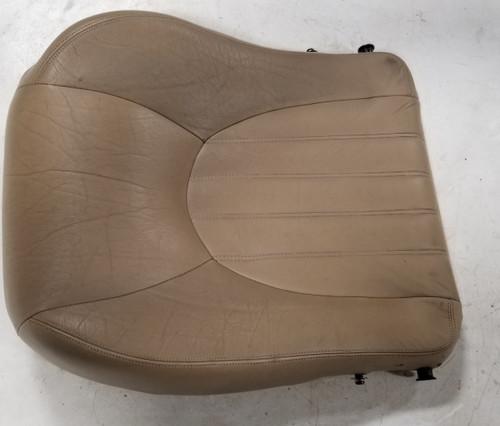 1997 1998 1999 Jaguar XK8 XKR RH Right Passenger Seat Base Cushion Tan