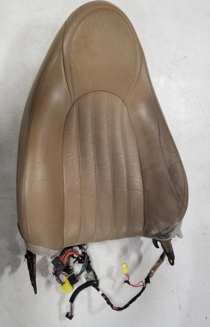 1997 1998 1999 Jaguar XK8 XKR LH Left Driver Seat Base Back Tan