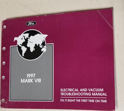 1997 Lincoln Mark VIII Electrical Vacuum Manual EVTM FPS-12120-97