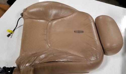 1997 1998 Lincoln Mark VIII Seat Back Light Prairie Tan LH Driver Side Grade B
