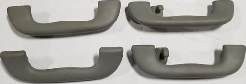 2002-2008 Jaguar X-Type X Type Overhead Grab Handle Complete Set Gray