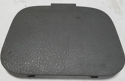 2000 01 02 03 04 05 2006 LINCOLN LS Kick Panel Fuse Panel Cover Dark Stone