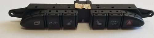 1995 to 2003 Jaguar XJR XJ8 Dash Switch Panel Control Panel Buttons LNC 6290 DB