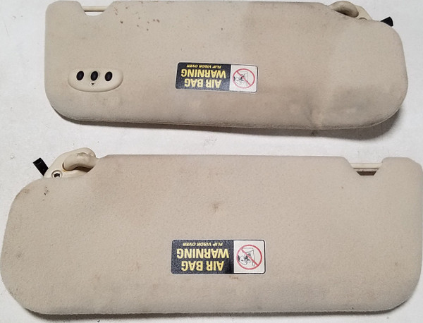1997-1998 Lincoln Mark VIII Sun Visor Ivory Grace C