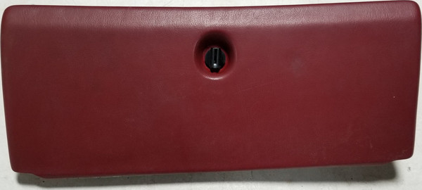 1984-1989 LINCOLN MARK VII 7 Glove Box Red