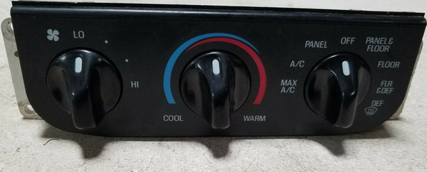 99-02 FORD EXPEDITION F150 F250 NAVIGATOR CLIMATE CONTROL A/C OEM XL3H-19E764-A