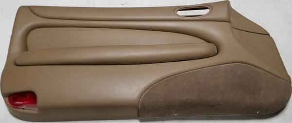1997  to 2006 Jaguar XK8 XKR LH Interior Door Panel BK 6242 DAA Dark Tan