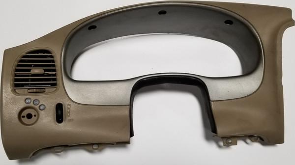1995 - 2003 FORD RANGER EXPLORER INSTRUMENT CLUSTER DASH BEZEL 2 Tone Tan