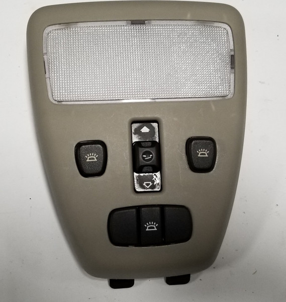 2000 2001 2002 Jaguar S-Type S Type SUNROOF MOON ROOF SWITCH DOME GRAY