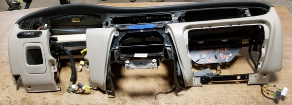 2003 Jaguar XJ8 XJR VDP DASH PANEL DASHBOARD Interior Code AGD