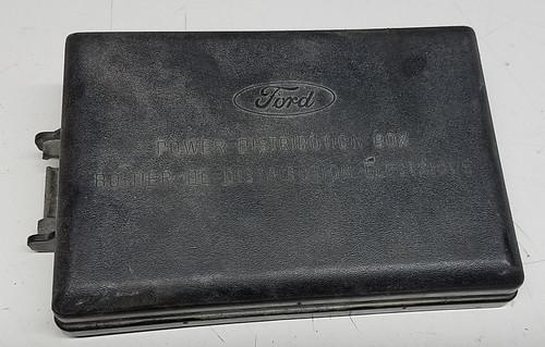 1993 1996 Lincoln Mark VIII Fuse Box Cover 4 6L DOHC