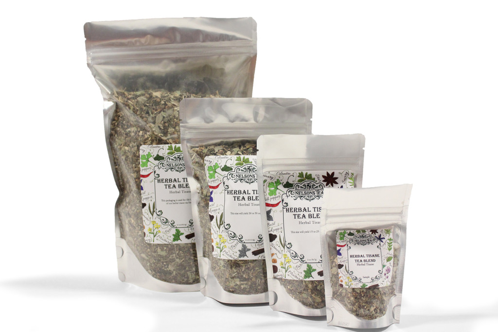 Lavender Orange herbal loose leaf tea