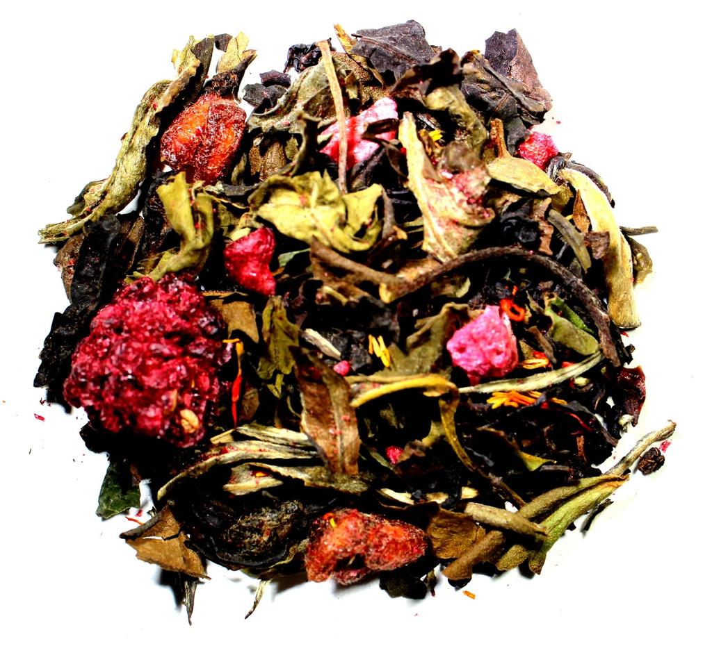 blackberry pomegranate loose leaf tea