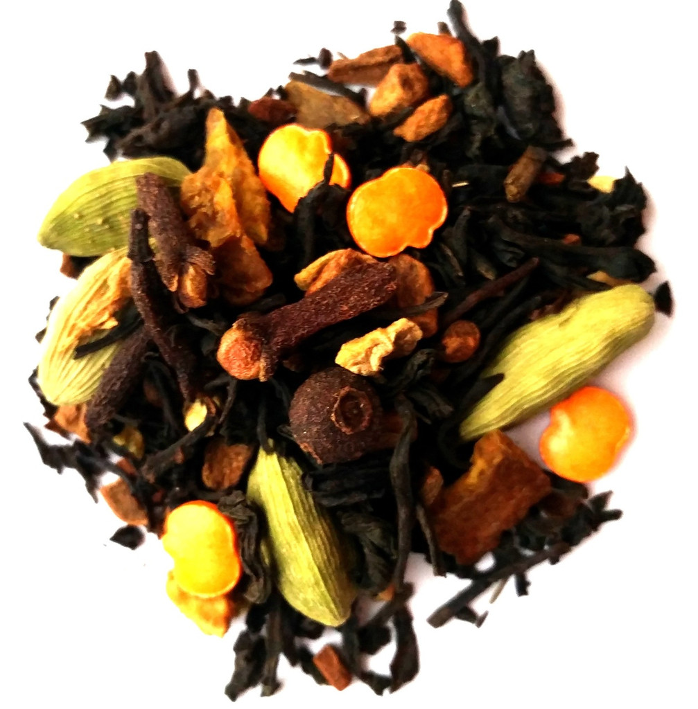 Pumpkin spice loose leaf tea