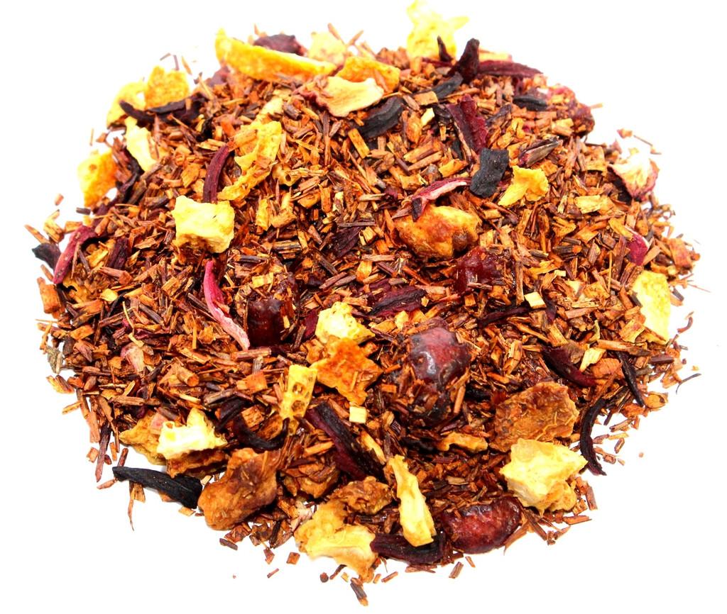 Cranberry orange vanilla rooibos loose leaf tea