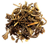 Green loose leaf tea infused with jasmine