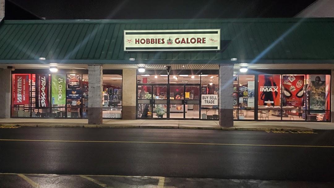Hobbies Galore Shop Location