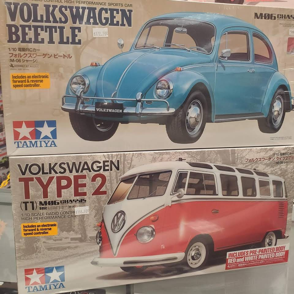 VW Model Car Sets