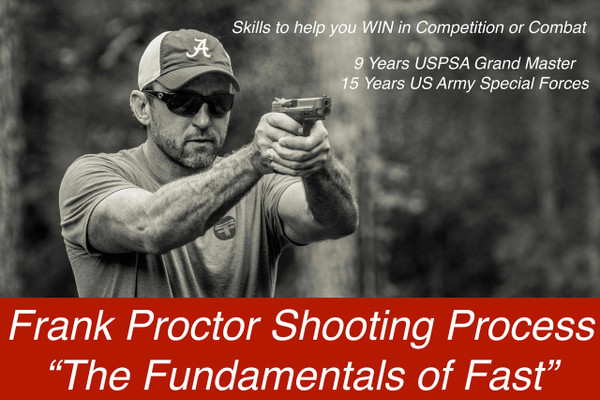 "Proctor Pistol Process ""The Fundamentals of Fast"" (2 Day Course) see drop down for available dates and locations"
