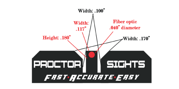 Proctor Y Notch Sight Sets