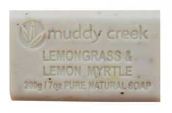 Lemongrass & Lemon Myrtle Soap  200gr