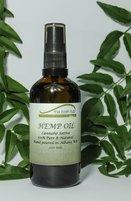 Hemp Seed Oil 100mls