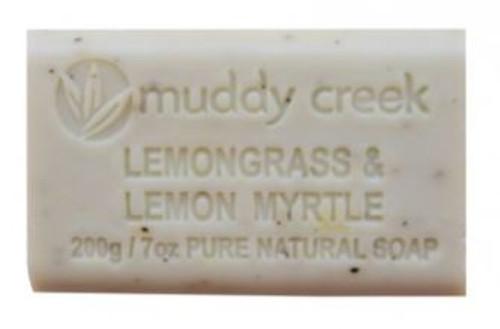 Lemongrass & Lemon Myrtle Soap Bar 200gr