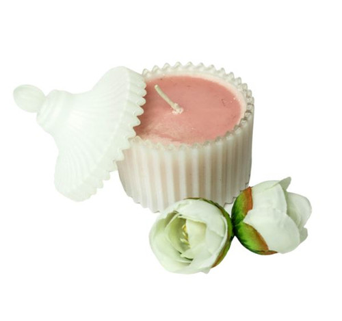 Carousel Candle White