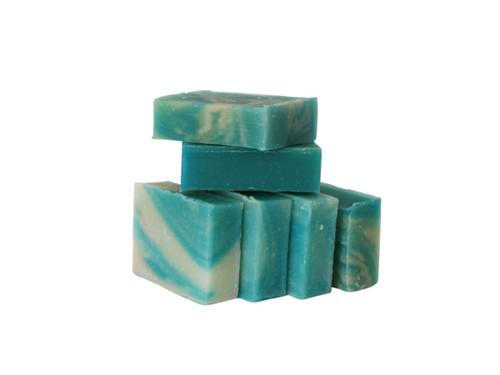 Ocean Blue guest soap