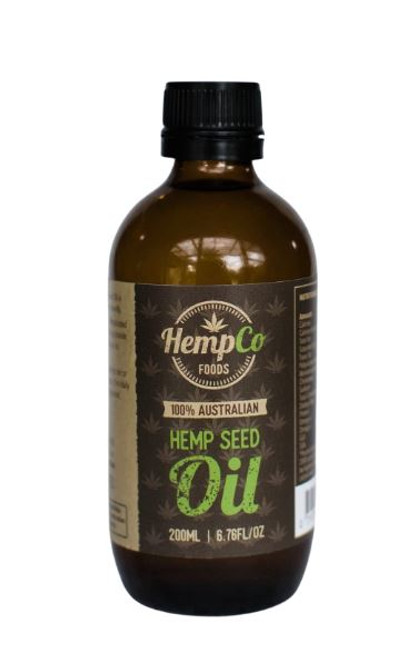 Organic Hemp Oil 200mls