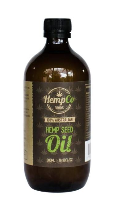 Organic Hemp Oil 500mls