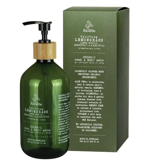 Organic Lemongrass Body Wash 500ml
