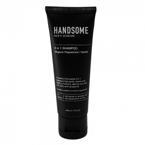 2 IN 1 SHAMPOO Tube From HANDSOME 50ml