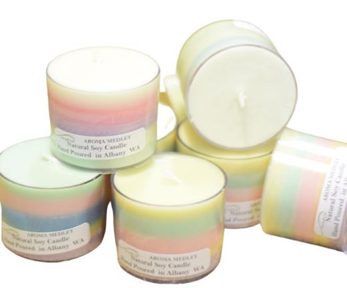 Aroma Medley Soy Wax Candle - Approx Burn Time 15-20hrs