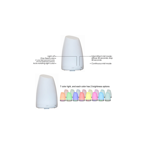 Electric Aromatherapy Colour Changing Diffuser LUA
